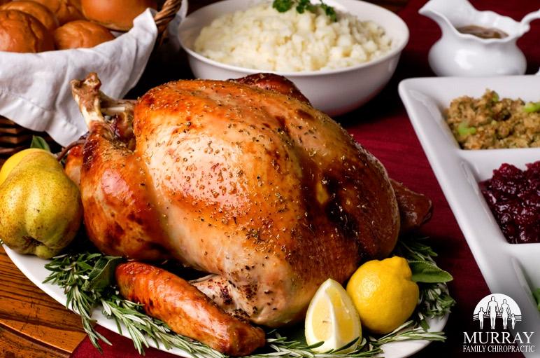A big turkey dinner