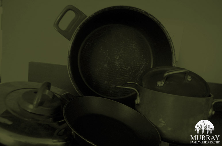 Image of old pots and pans