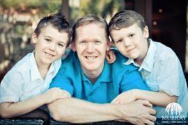 Image of Dr.Rob and his two boys